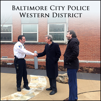 MARYLAND ATTORNEY GENERAL visits BPD Western District