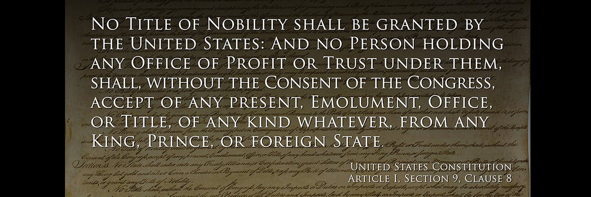 Foreign Emoluments Clause